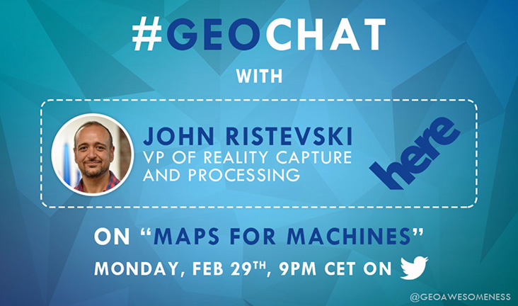 Calling all map lovers: What's a #geochat and why you should participate