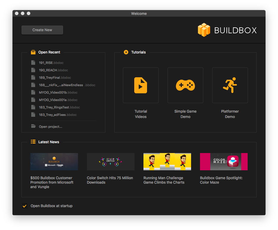 Codeless game engine Buildbox adds Universal Windows Platform (UWP) support