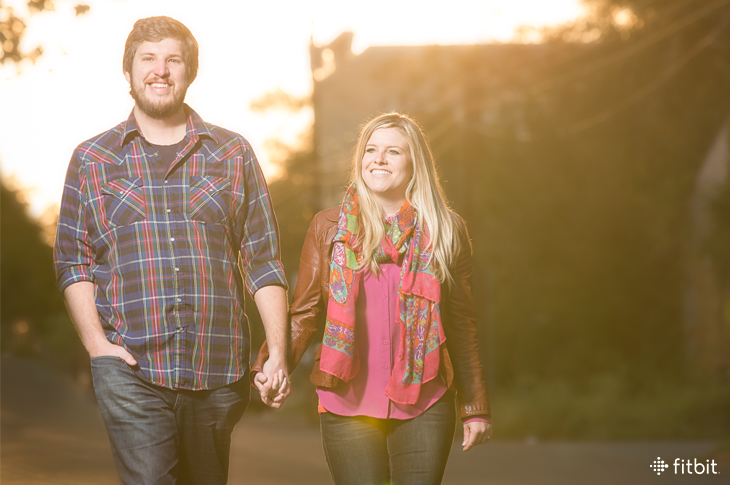 He Said, She Said: An Engaged Couple Commits to Sweating Before the Wedding