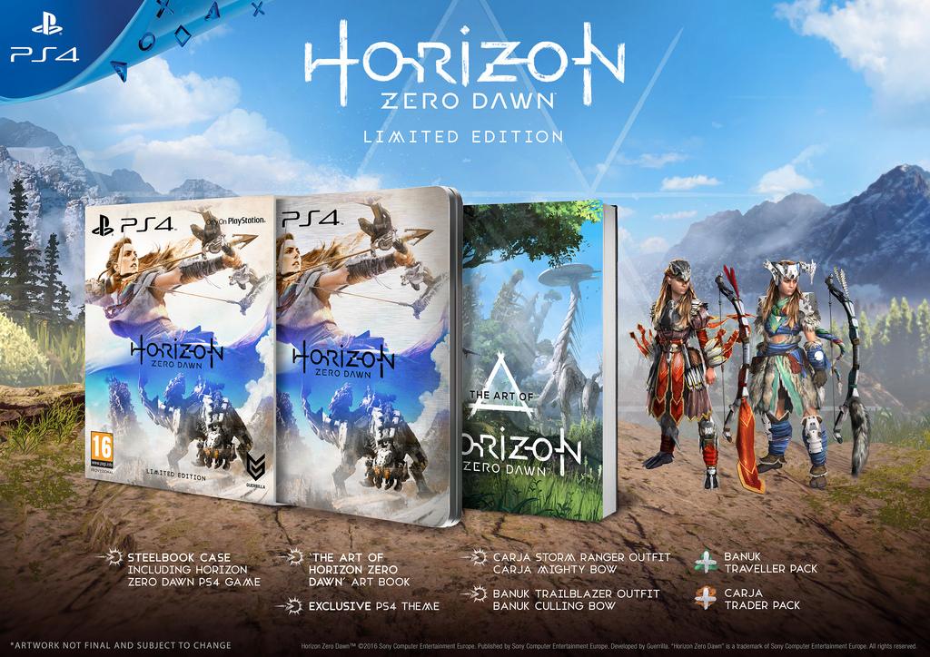 New Horizon Zero Dawn gameplay footage debuts at E3