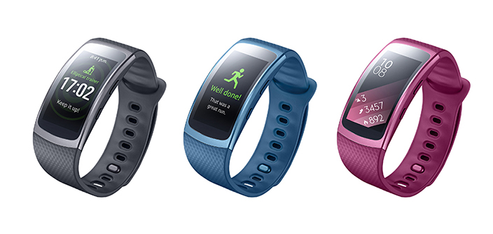 Samsung Brings New Gear Fit2 GPS Sports Band to Global Market