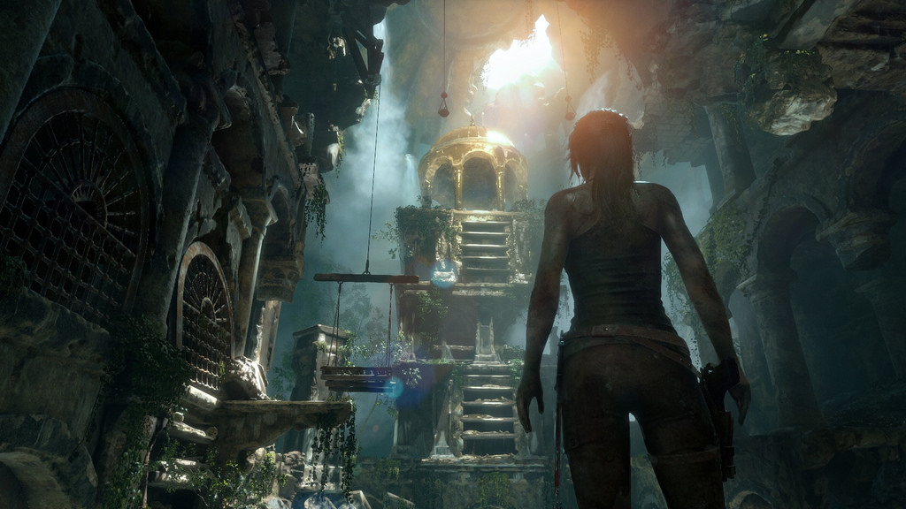 Rise Of The Tomb Raider arrives on PS4 this October with new PS VR mission