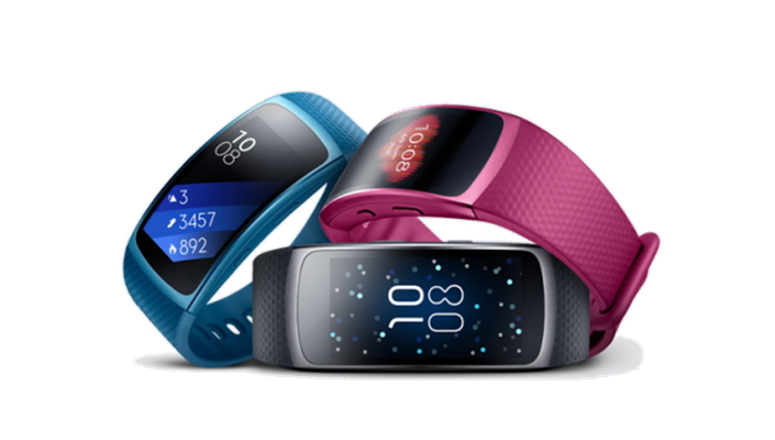 A Day with the GPS Sports Band, Gear Fit2
