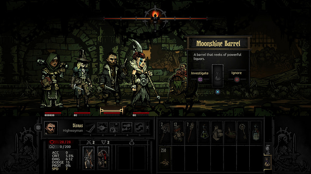 Darkest Dungeon creeps onto PS4 and PS Vita on 27 September