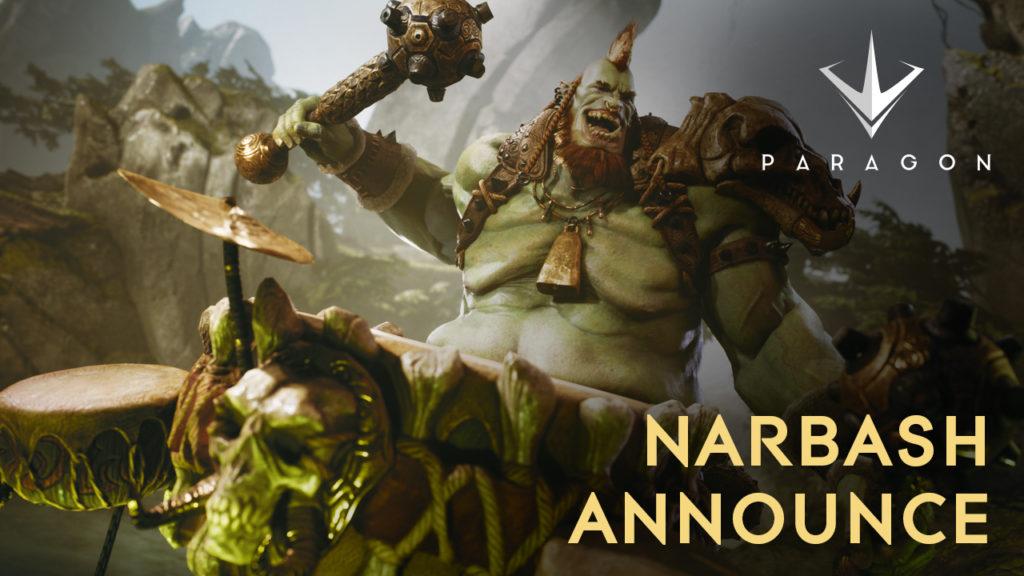 PS4 MOBA Paragon gets a new Hero next week: Narbash
