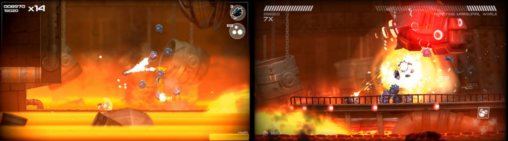 Twin-stick shooter Rive hits PS4 on 13th September