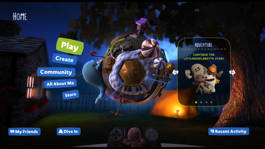 LittleBigPlanet 3 gets major UI update, new level kit and Mm Anniversary Pack