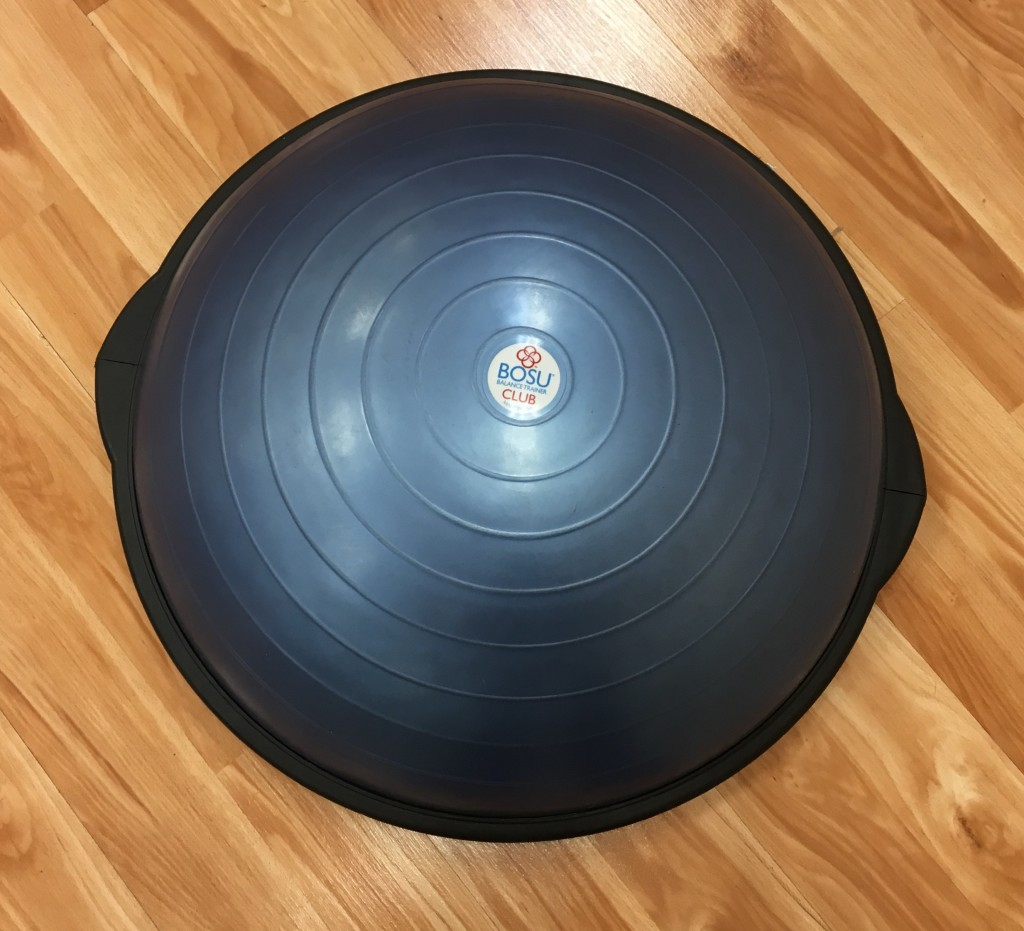 What is a BOSU ball for? This.
