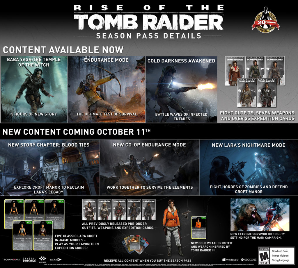 """Celebrate """"The Year of the Tomb Raider"""" with New DLC for Rise of the Tomb Raider"""