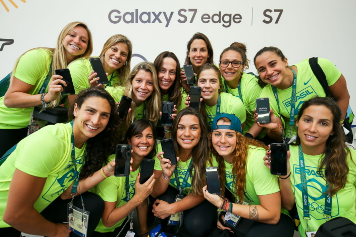 Samsung Delivers 12,500 Galaxy S7 edge Olympic Games Limited Edition Phones to Rio 2016 Olympians