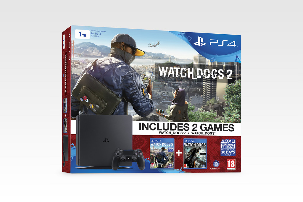 Grab big hitting triple-A games in the newest PS4 bundles