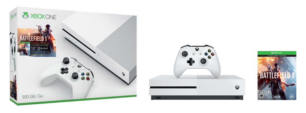 Experience the Dawn of All-out War First on Xbox One S with New Battlefield 1 Bundles