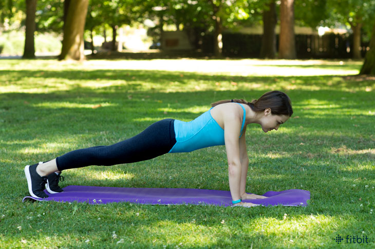 Fitbit Basics: How to do the Perfect Plank
