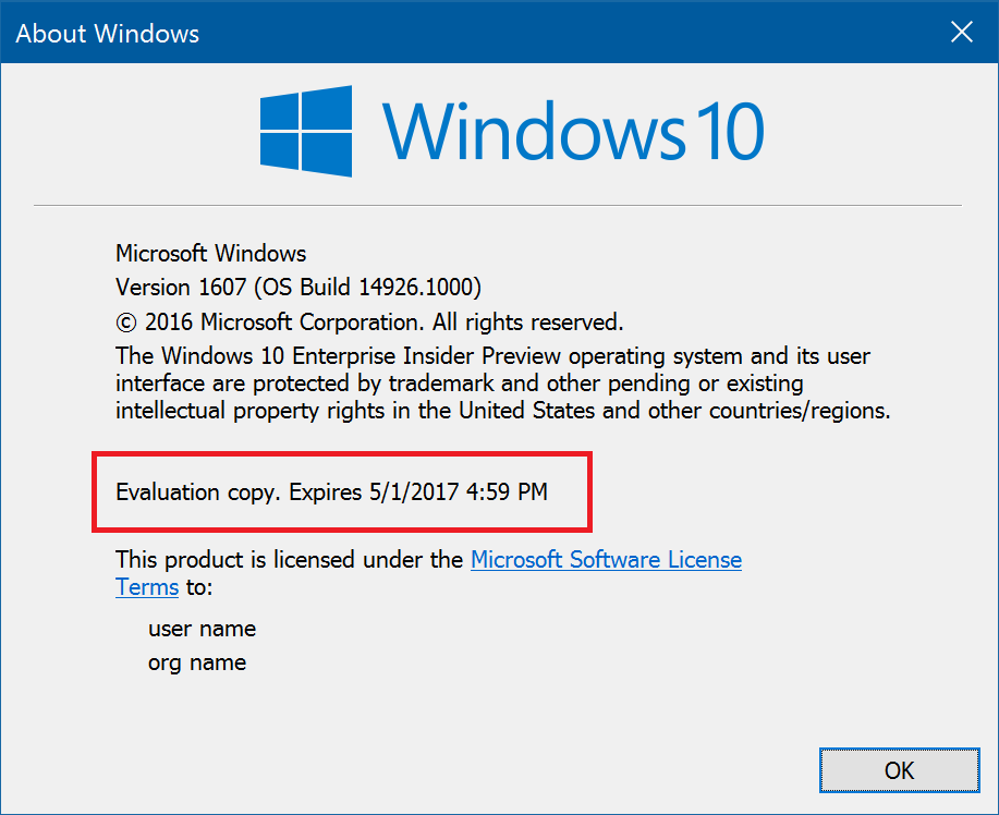 Announcing Windows 10 Insider Preview Build 14926 for PC and Mobile