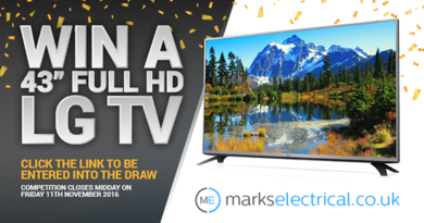 """EXPIRED COMPETITION: Win a brand new LG 43"""" Full HD Television"""