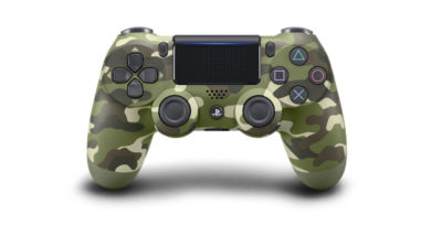 New Green Camouflage Dualshock 4 revealed