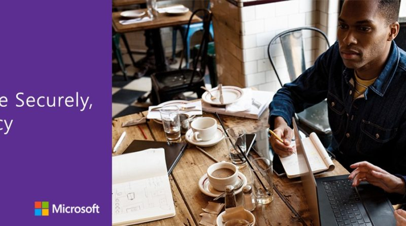 Work securely anywhere with Office 2016 and Windows 10