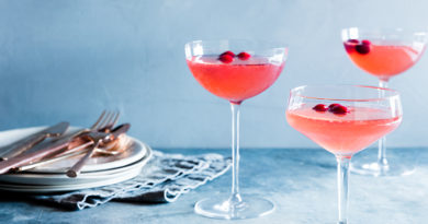 Healthy(ish) Recipe: Cranberry-Ginger Cocktail