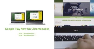 Acer l Google Play Now On Chromebooks