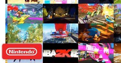 Nintendo Switch Presentation 2017 - Software Line-up Video