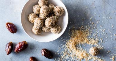 Healthy Recipe: Coconut Energy Bites