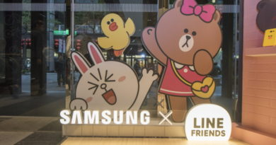 Samsung x LINE FRIENDS Accessories for Galaxy A Showcased at Pop-Up Stores in Taiwan and Singapore