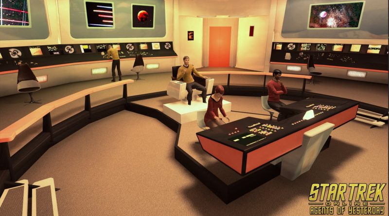 Return to the 23rd Century in Star Trek Online: Agents of Yesterday on Xbox One