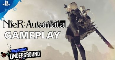 NieR: Automata - PlayStation Underground Open World Gameplay Video | PS4