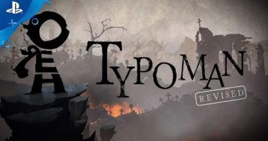 Typoman - Launch Trailer | PS4
