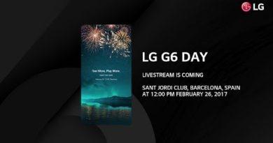 LG G6 Day Livestreaming