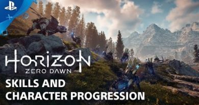 Horizon Zero Dawn: Skills and Abilities - Countdown to Launch at PS Store   PS4
