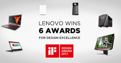 Lenovo Wins 6 iF Product Design Awards – Celebrating the Union of Form and Function