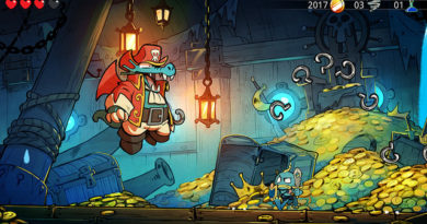 A new adventurer joins PS4 action remake Wonder Boy: The Dragon's Trap