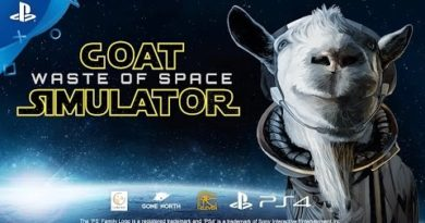 Goat Simulator: Waste of Space - Announce Trailer   PS4