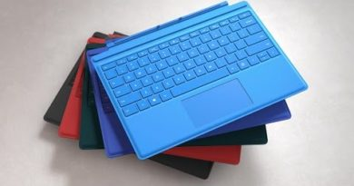 Microsoft Surface Pro 4 Typecover