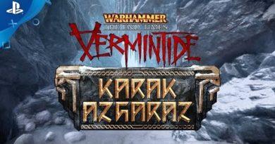 Warhammer: Vermintide Karak Azgaraz - Launch Trailer | PS4