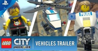 LEGO City Undercover - Vehicles Trailer   PS4