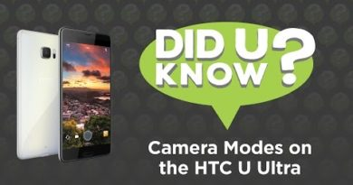 Did U Know - Camera Modes on the HTC U Ultra