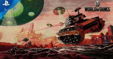 World of Tanks - April Fools: Mars Mode Trailer   PS4