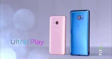 HTC U Ultra & HTC U Play Liquid Surface Design