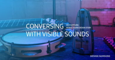 [Design Story] How Samsung's Sound Design Creates a Harmonized Galaxy S8 User Experience