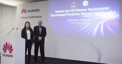 Huawei and GE Release Industrial Cloud-based Predictive Maintenance Solution - New solution reduces unplanned asset downtime and maintenance costs while enhancing product and services innovations