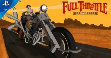 Full Throttle Remastered  - Launch Trailer   PS4
