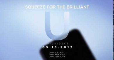 Squeeze for the Brilliant U. 05.16.2017 htc.com/launch