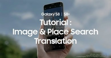 Samsung Galaxy S8: Image & Place Search, Translation