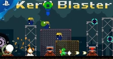 Kero Blaster - Launch Trailer | PS4