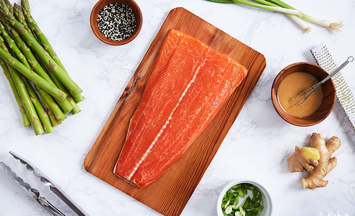 Healthy Recipe: Cedar-Plank Grilled Salmon with Miso ...