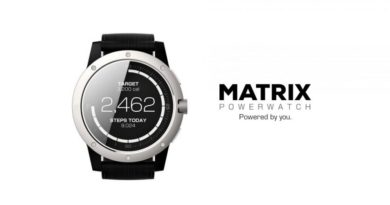 Smartwatch, which never needs to be loaded: MATRIX PowerWatch