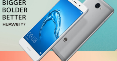 Huawei Y7: Smartphone with XXL battery and 12 MP camera