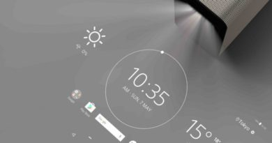 Sony Xperia Touch: A projector that turns your table into a touch screen .. At 1500 €